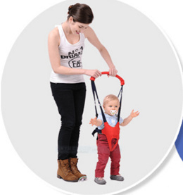 Baby Toddler Harness Walk Learning Assistant Safety Pouch* X-Sling X-shaped Weight-saving Baby Sling