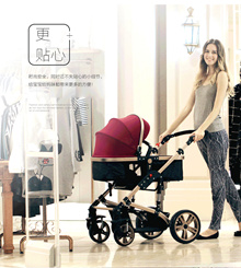 TEKNUM latest high-end stroller / ◆ Free Shipping ◆ / 60KG maximum / double spring design / four seasons available / folding stroller / baby supplies