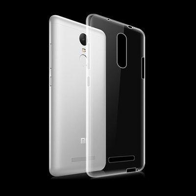 wholesale dealer d8fad 92689 Xiaomi Redmi Note 3 Note4 Redmi Note 4 Case Clear Transparent Ultra Thin  Soft Back Case Cover