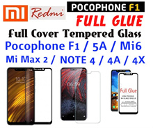 XIAOMI POCOPHONE F1 MI MAX 2 REDMI 5A MI 6 NOTE 4 4A 4X FULL COVERAGE