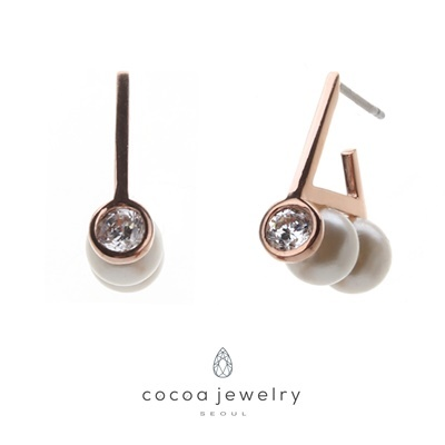 Cocoa Jewelry Anting You Got Love 07-DBE-04
