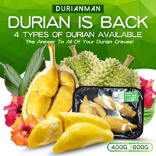 人气王✌ 400G DURIAN MAN IS HERE TO SAVE YOUR CRAVE! FRESH FROM PLANTATION 400G