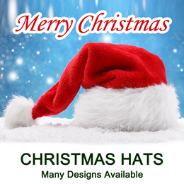 Childrens Party Parties Christmas Xmas Gifts Hat Hairband Wristband Accessories Presents