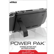 Nyko Power Pak for Nintendo Switch. Extend your playing time with Power Pak for Nintendo Switch™ / D