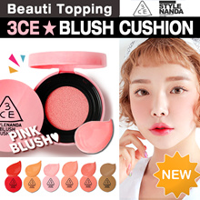 ★2017 NEW★3CE★BLUSH CUSHION (6 Colours) [Beauti Topping]