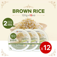 [CJ]Limited Qty / Big Sale / Brown Rice x12ea Bibimbob/Beef Soup/Bean Paste Stew