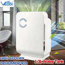 ⚡QOO10 DAY⚡High Efficiency Dehumidifier⚡SG Plug👍1.3L Automatic Electronic Mildew Killer Air Purifie