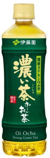 【送料無料】伊藤園 おーいお茶 濃い茶 525ml×24本