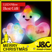 Best Creative gift toy Luminous LED Pillow to kids for party birthday Gift