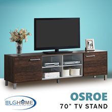 【OSROE】70 inches TV Console/TV Cabinet/TV Stand/TV Furniture/Television Cabinets with Doors