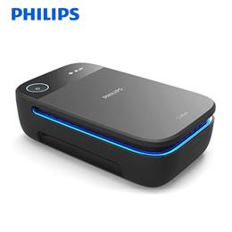 Philips New GoPure SlimLine 210 Air Cleaner for Car Use / Filter Type / Finedust 99.9% Removal / Car Air Purifier / Triple HEPA Filter System / Philips Select Filter [Free Shipping]