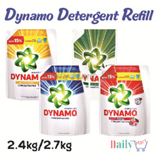 (Limited Promo Period)3x Dynamo Power Gel Detergent 2.4KG. 2.7KG*3. Passion | Anti-Bacterial | Indoor Dry | Perfect Clean