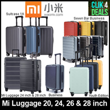 Xiaomi Mi Luggage 2019 Latest Model / Travel Suitcase / 20 inch/ 24 inch/ 26 inch/ 28 inch/ Youth
