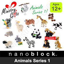 ♥Gift Ideas♥[ nanoblock ] Animals Series 1 (Authentic)(Imported from Japan)♥MinistryOfGifts♥