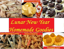2019 CNY Goodies : 100% Handmande Pineapple tarts/Crabstick/Chigu/Seaweed Crackers