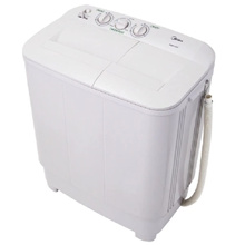 [BUY AT RM 490 With 16% DISCOUNT COUPON!!] - Midea Semi Auto Washer MSW-1108P 11kg  // FREE SHIPPING // READY STOCKS