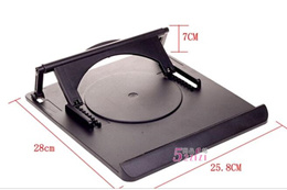 360-degree rotating laptop stand / cooling pad / cooling pad / cooling rack 400g_Home Creator