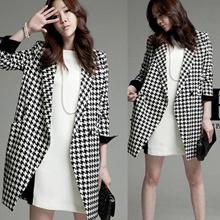 2016 New Overcoat / Dust coat / Women Coat / Winter coat / Fur Jacket / Spring Autumn Winter Jacket