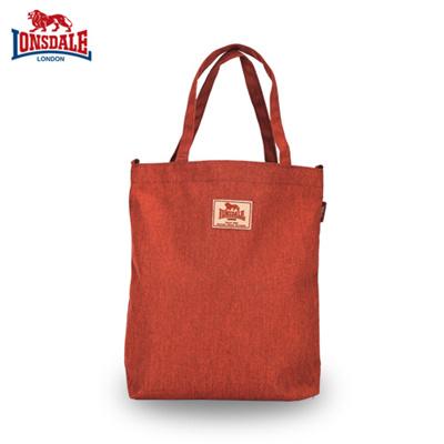 Lonsdale Tote Bag Shoulder Uni School Casual Ht7 Lsb6002 Or