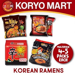 Korean Ramens Multi Package  / (Huge Selection Of High-quality Ramens And Noodles)