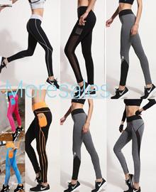 women yoga zumba fitness gym running sports long pants seluar panjang wanita exercise