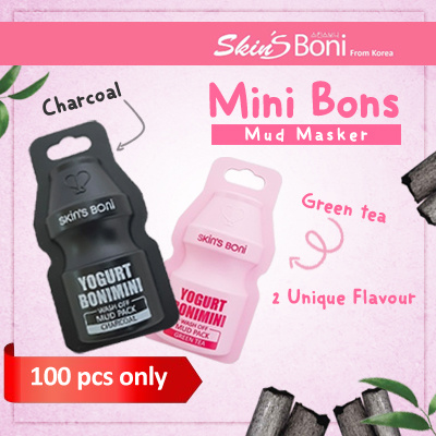 New Mud Mask Boni Mini Korea Deals for only Rp25.000 instead of Rp25.000