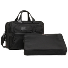 Tumi Bag TUMI 26141 D 2 Alpha ALPHA BALLISTIC BUSINESS Men's Business Bag BLACK