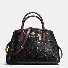 DIRECT SHIPMENT FROM USA - COACH SMALL MARGOT CARRYALL DEBOSSED-USE CART+SHOP COUPON
