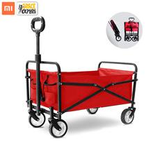 Xiaomi Foldable Camping Trailer Wagon Wagon Cart Multipurpose Carrier