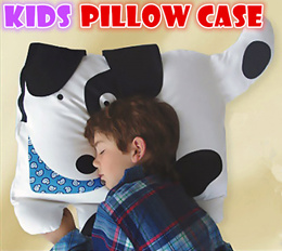 huge kids pillow case baby toys 100% cotton cartoon pillow protector birthday gifts