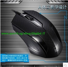 Genuine chasing light Panther 129 professional gaming mouse wired USB mouse CF CS- laptop keyboard
