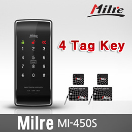 ★Milre★ Mi-450S Digital Door Lock Smart Touch Keypad Tag Key Keyless BEST SELLER