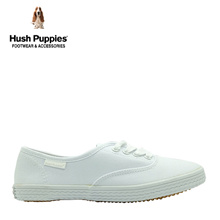 Hush Puppies SG Limited Edition Carla Canvas Sneakers (Women- White)