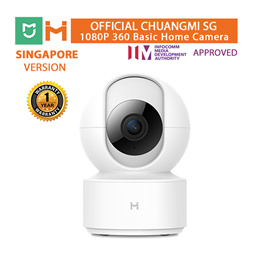 [OFFICIAL ChuangMI SG]XiaoMi ChuangMi (iMiLab) 1080P 360 Basic Home Camera | Mijia App