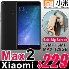 Authentic Xiaomi Max2 Android 4G SmartPhone 6.44inch Snapdragon625 Octa Core 12.0MP Camera 5300mAh
