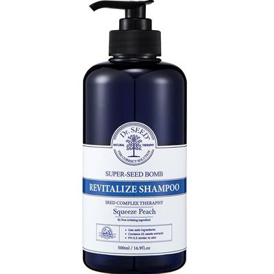(Produk Hitam) Doktor Seed Seed Super Seed Night Shampoo Squeeze Pitch incense / Idea produk, produk