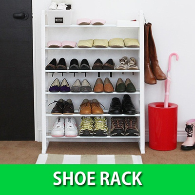Qoo10 korea authentic shoe rack shoerack shoes rack in singapore shoe shel furniture deco - Shoe cabinet for small spaces concept ...
