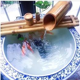 Waterworks Story Water Fountain Bonsai Fountain Ceramic Aquarium Fountain Water View Humidifier Bamb