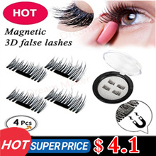 Latest PREMIUM 3D Reusable Magnetic Fake Eyelashes for Natural Look Cruelty Free★0.02mm Ultra-thin★
