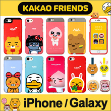 ★ KAKAO Friends Jelly/Bumper/Card/Mirror Case ★ iPhone X / iPhone 8 / iPhone 7 ★ Galaxy S9 S8 Note8