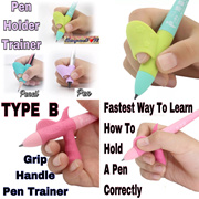 Kids Children Pen Pencil Grip Holder Training Trainer Holding Technique