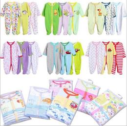 3pcs Sleepsuit Baby Rompers Baby Sleepwear casual wear Newborn
