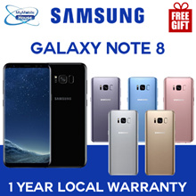 Samsung Galaxy Note 8/ Smartphone /  with 1yr Local Warranty