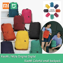 Xiaomi Mijia Colorful small backpack 10L level4 waterproof Ykk zipper outdoor School bag Lightweight