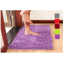 Buy 1 Free 1 - Frieze Carpeting Colorful Fluffy Rugs Anti-Skid Shaggy Area Home Bedroom Carpet Floor