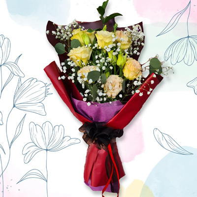 Yelllow Rose Bouquet