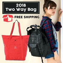 2WAY TOTE Rucksack 2-way Bag COLLECTION | TrendyOutlet |  TAS WANITA - TOTE+BACKPACK