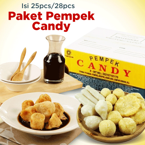 Pempek Candy Isi 25 Pcs Deals for only Rp152.400 instead of Rp195.385