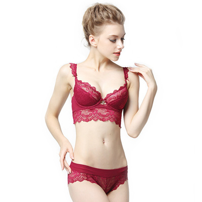 f8a5a10f23e Sexy Underwear Sets Lace Lingerie Bra Set Women Push Up Bras BH Big size  Bras and
