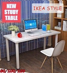 【New Study Table】Study Computer/Table Space Saving Office Study Desk Student Laptop PC Coffee Side